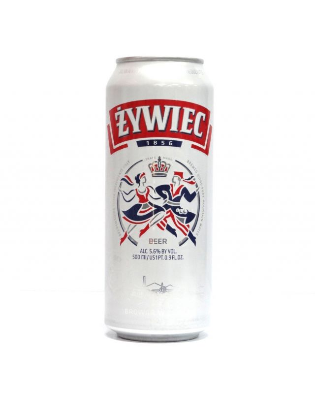 Zywiec 500ml Beer Can