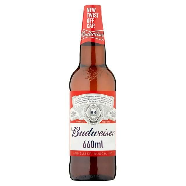 Budweiser 660ml Bottle