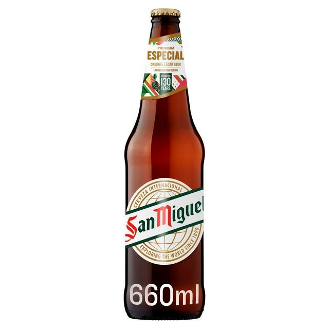 San Miguel 660ml Bottle