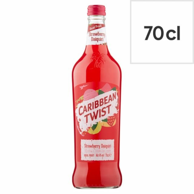 Caribbean Twist Strawberry 70cl