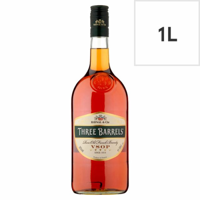 Brandy Three Barrels 1L