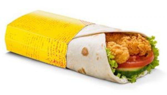 Mayo Chicken Wrap