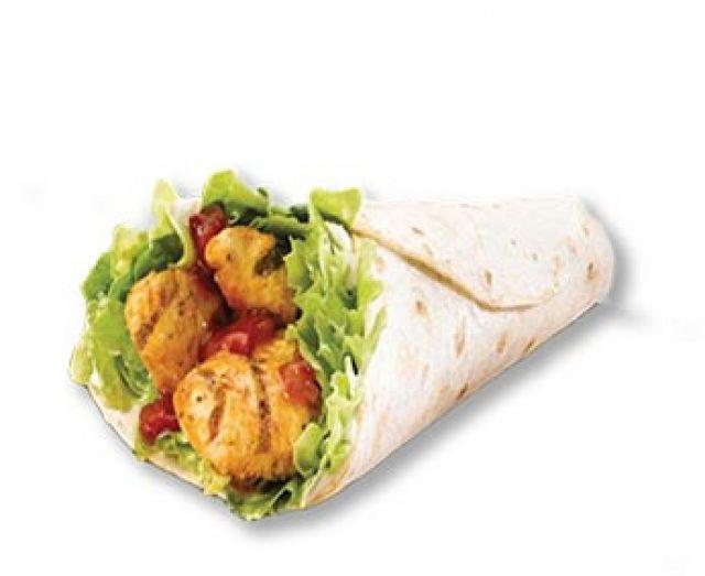Peri Peri Chicken Wrap