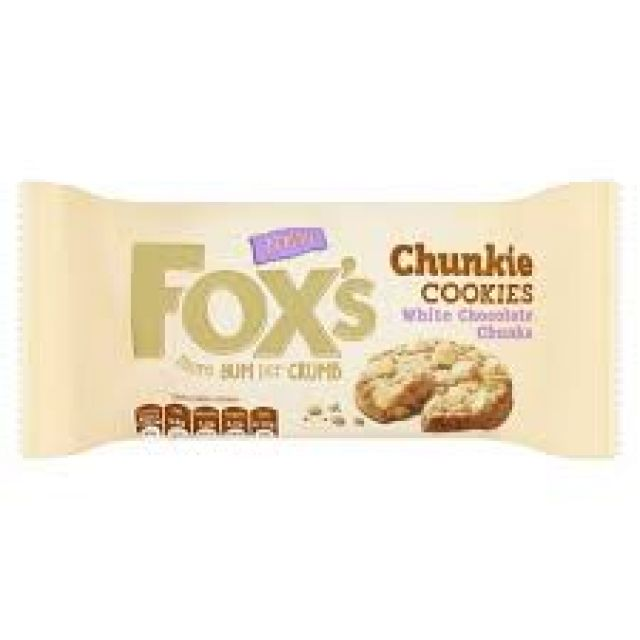 Fox Chunky White Chocolate 180g Cookies