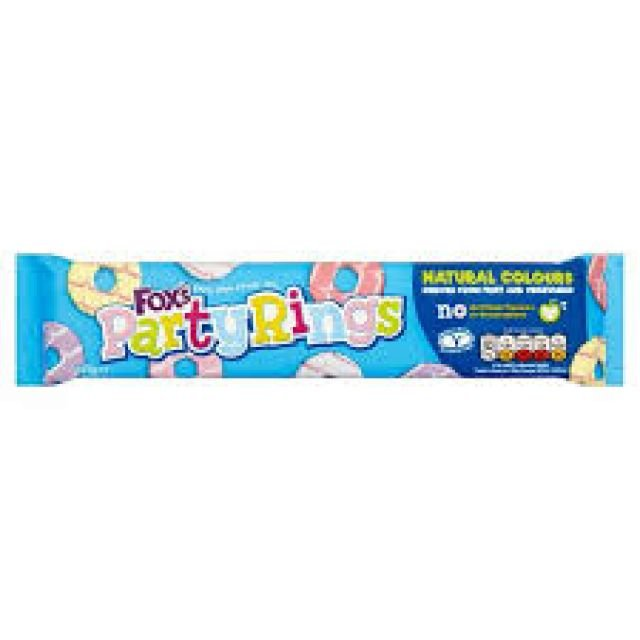 Fox Party Rings 125g