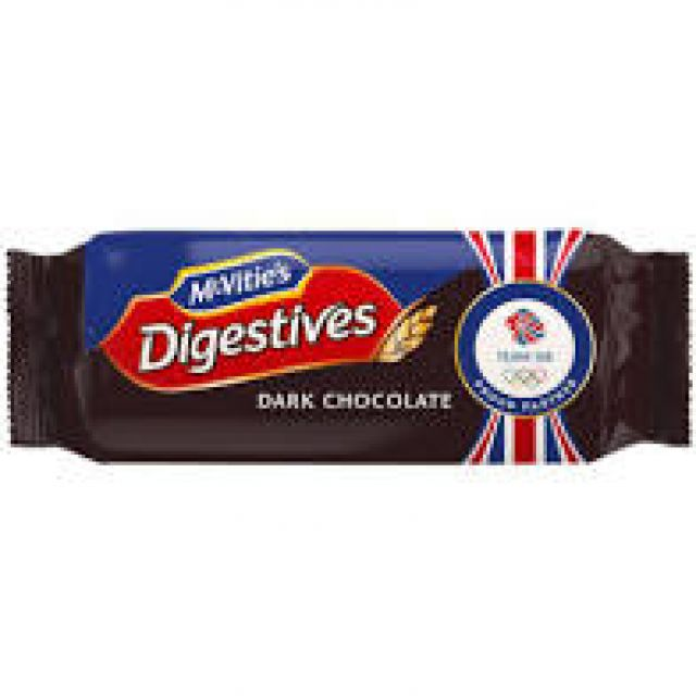Digestive Dark Chocolate 267g Biscuits