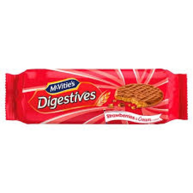 Digestive Strawberry 250g Biscuits