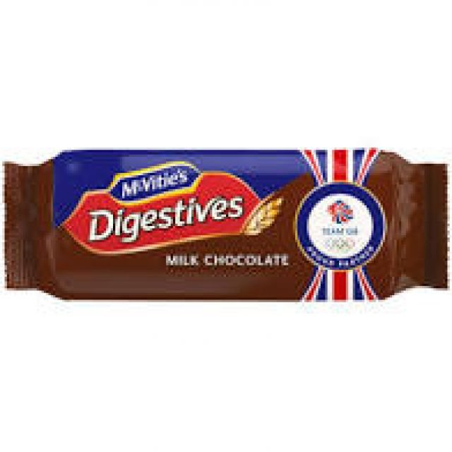 Digestive Milk Chocolate 266g Biscuits