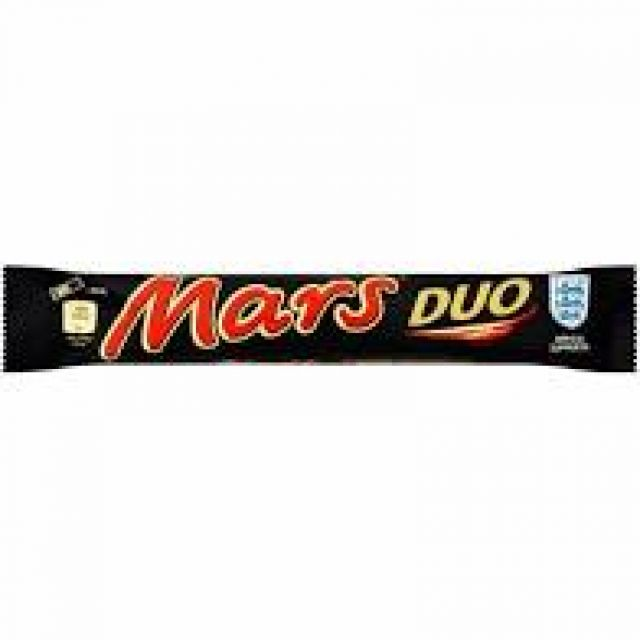 Mars Duo Bar 2x39.5g Chocolate