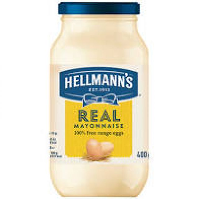 Hellmans Mayonnaise 400g Bottle