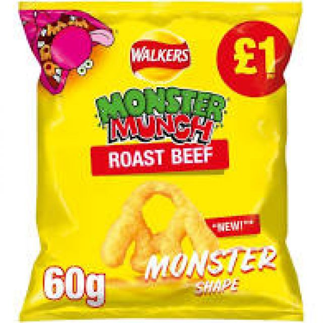 Monster Munch Roast Beef 60g