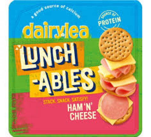 Dairylea Lunchables Ham n Cheese Stackers