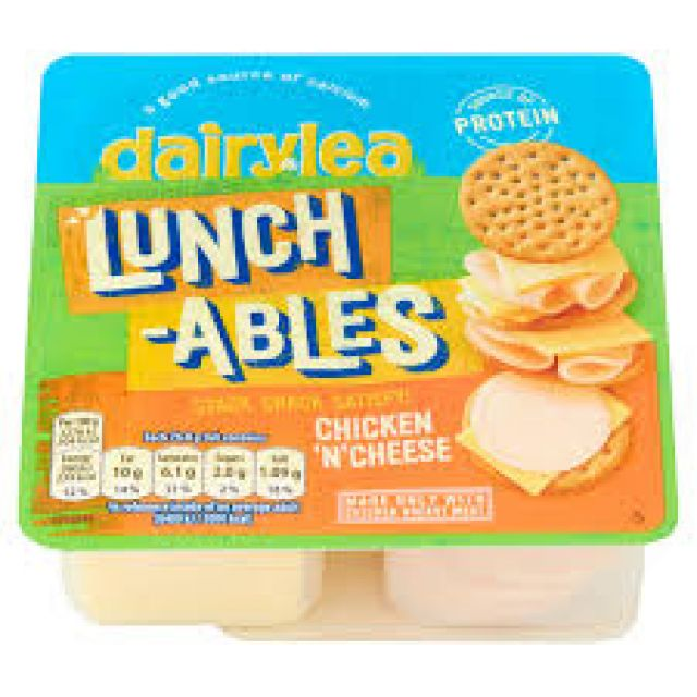 Dairylea Lunchables Chicken n Cheese Stackers