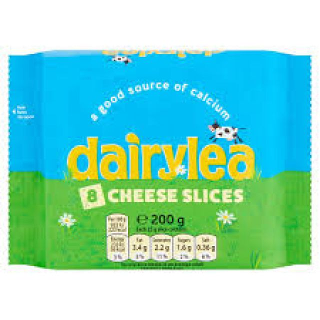 Dairylea Cheese Slices 8 Slices 200g