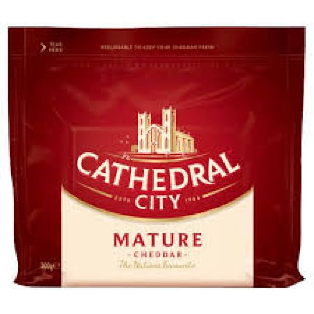 Cheese Cathedral Mature Cheddar 200g