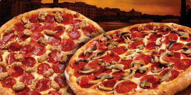 2 x Medium Pizza Deal