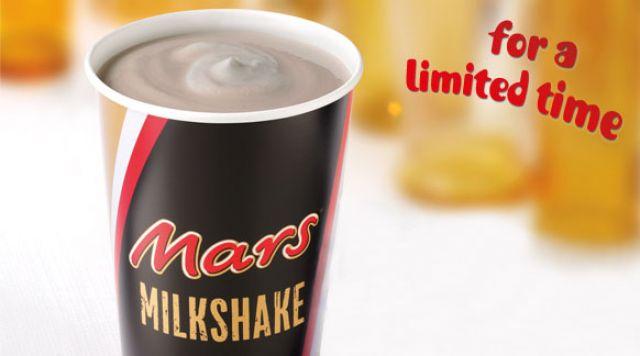 Mars Milkshake