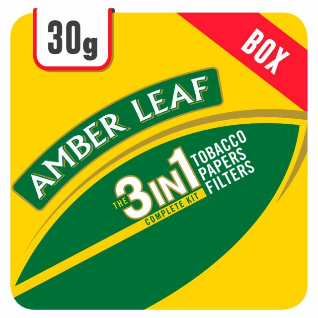 Amber Leaf 3in1 30g Box