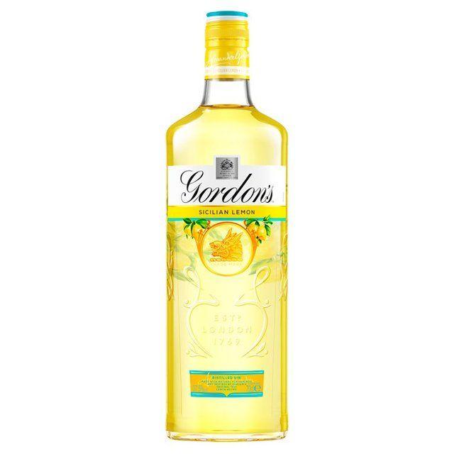 Gin Gordon's Sicilian Lemon 70cl