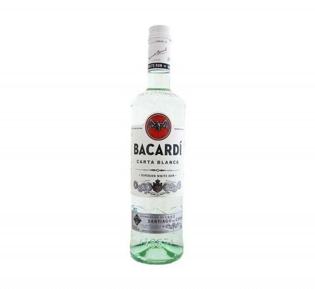 Rum Bacardi Carta Blanca 70cl