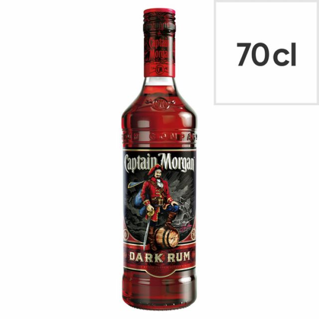 Rum Captain Morgan Black 70cl