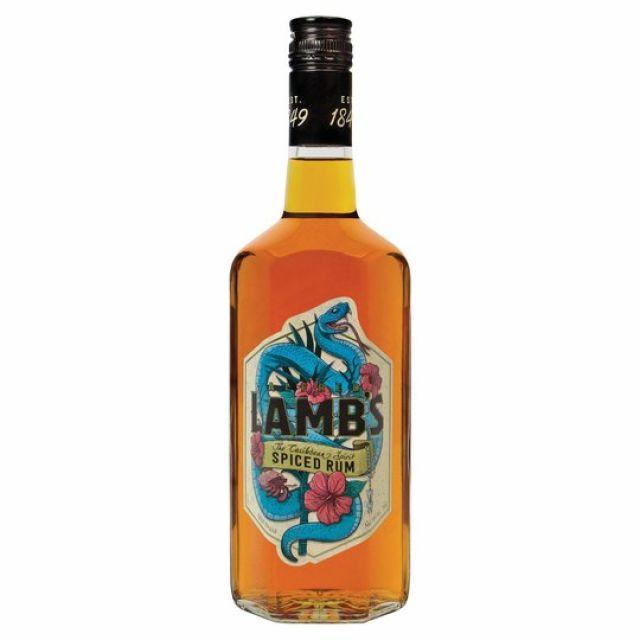 Rum Lamb's Navy Spiced 70cl