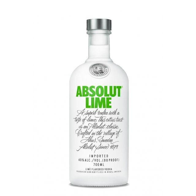 Vodka Absolut Lime 70cl