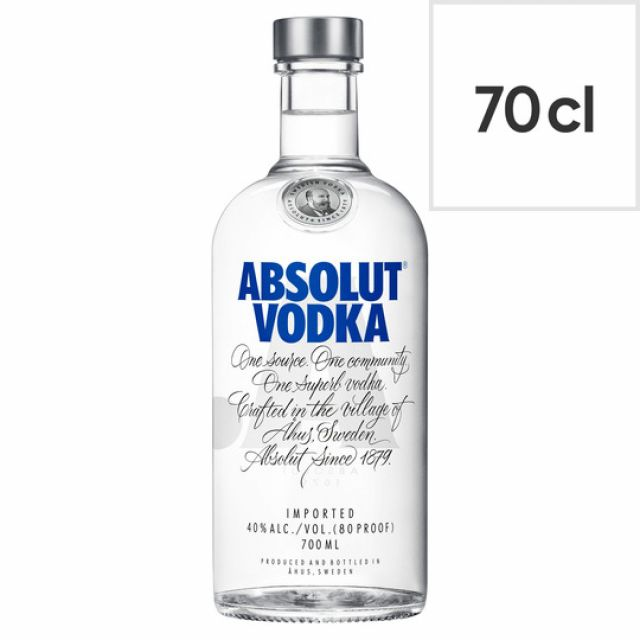 Vodka Absolut Original 70cl