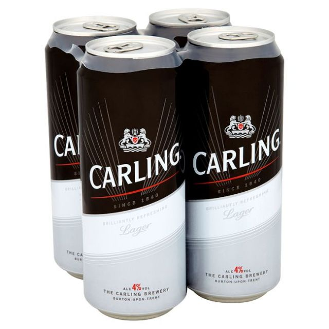 Carling 500ml Can 4 Pack
