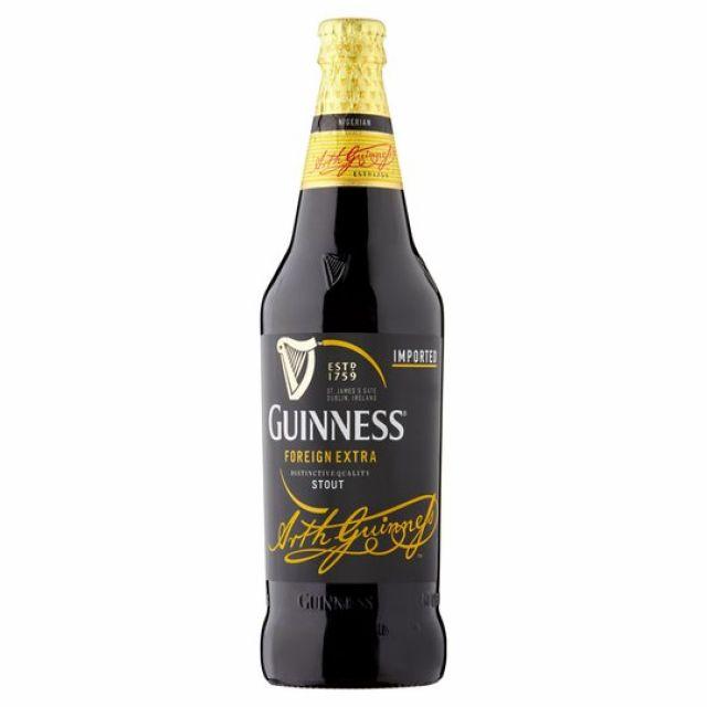 Guinness Extra Stout 600ml Bottle