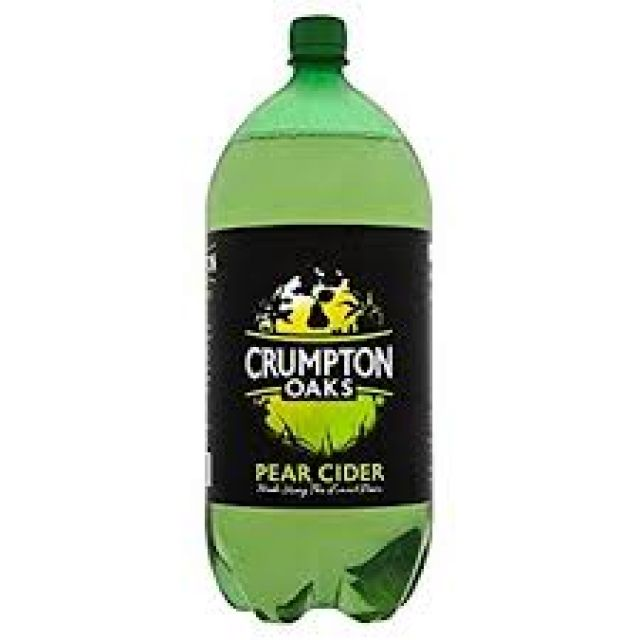 Crumpton Oaks Pear Cider 2.5L Bottle