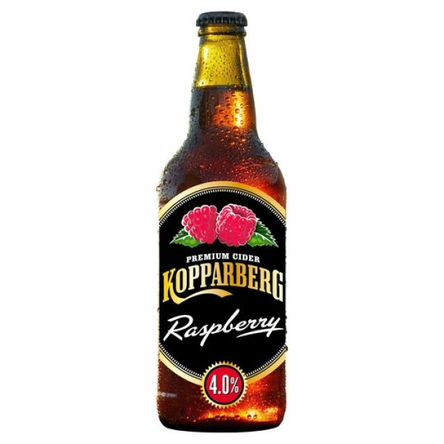 Kopparberg Raspberry Cider 500ml Bottle