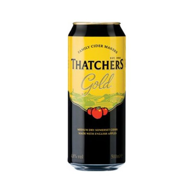Thatchers Gold 500ml Can