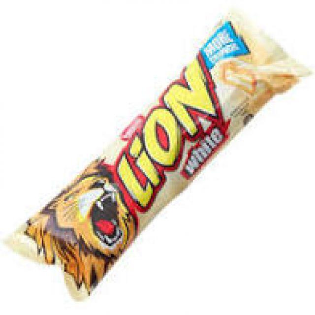 Nestle Lion Bar White