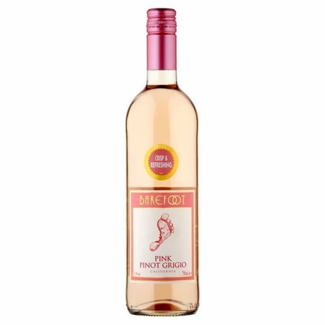 Barefoot Pink Pinot Grigio 75cl