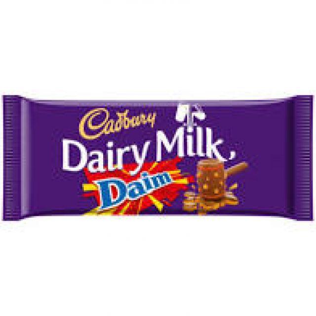 Cadbury's Dairy Milk Daim