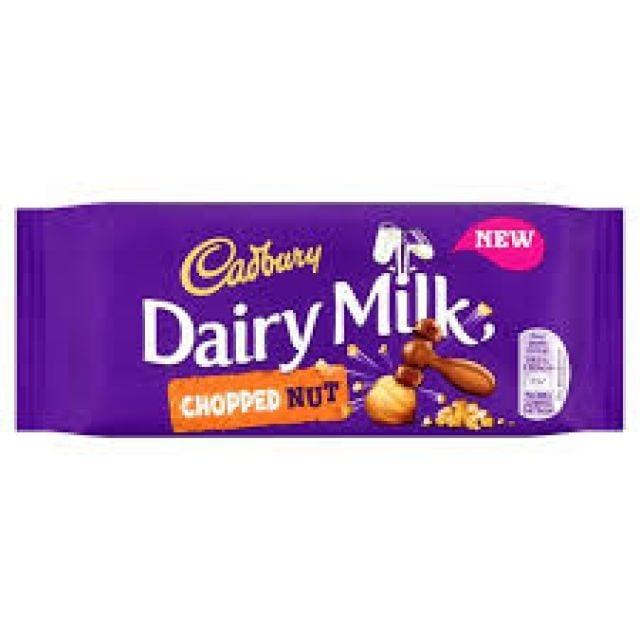 Cadbury's Dairy Milk Chopped Nut