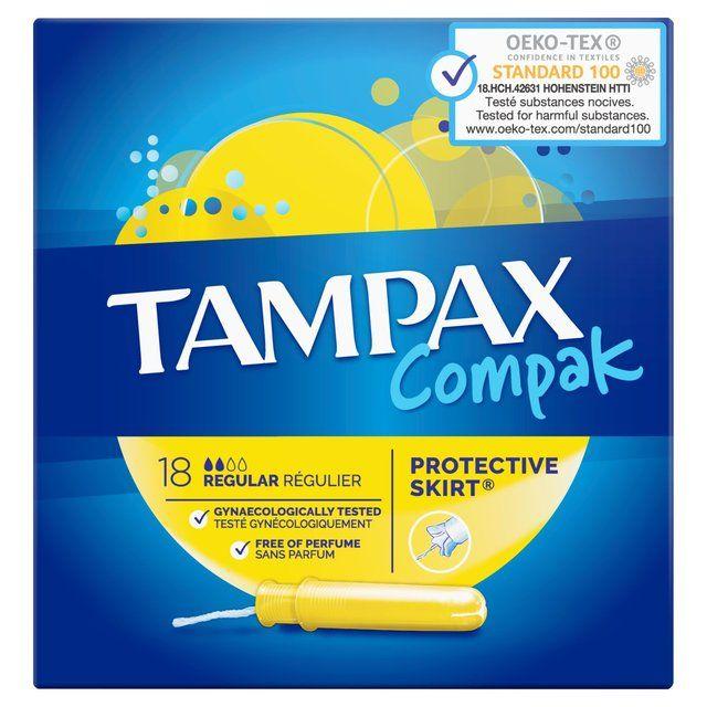 Tampax Compak Regular