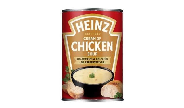 Heinz Cream of Chicken Soup Tin