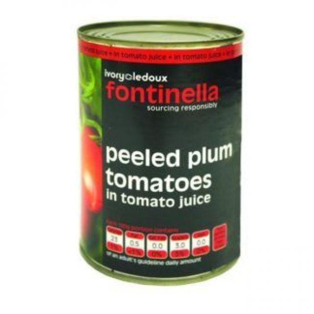 Fontinella Peeled Tomatoes Tin