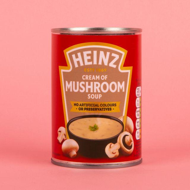 Heinz Cream of Mushroom Soup Tin