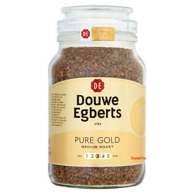 Coffee Douwe Egberts Granules Pure Gold 190g