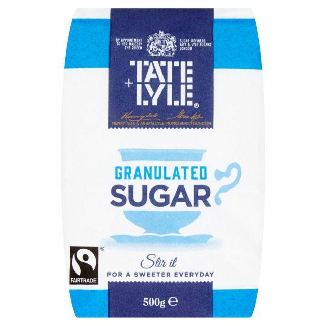 Tate Lyle White Sugar 500g