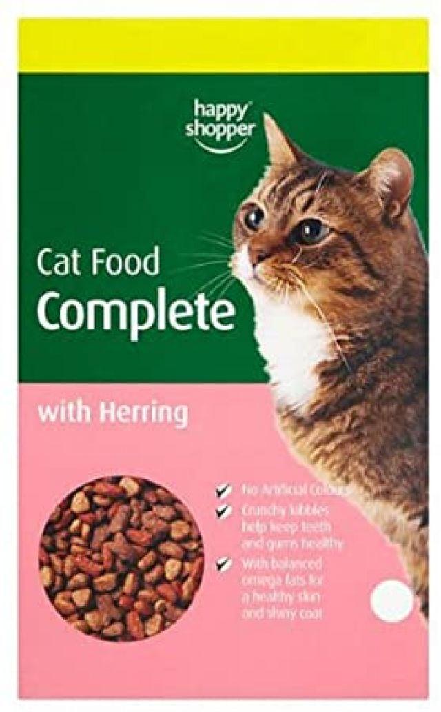 Cat Food Complete Herring Happy Shopper 425g Box