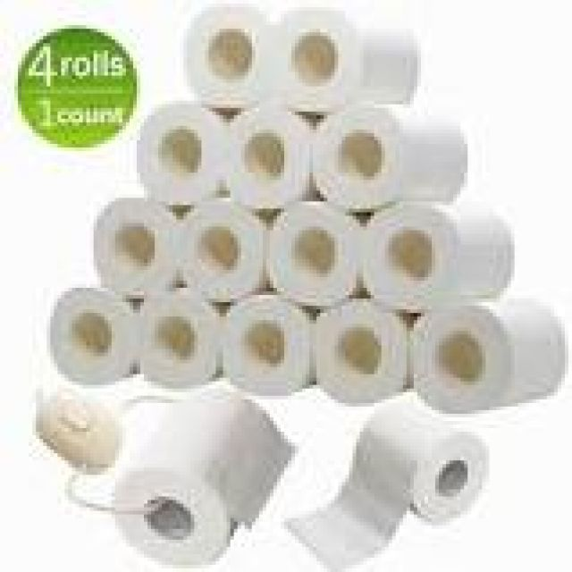 Toilet Roll 4 Rolls 4ply