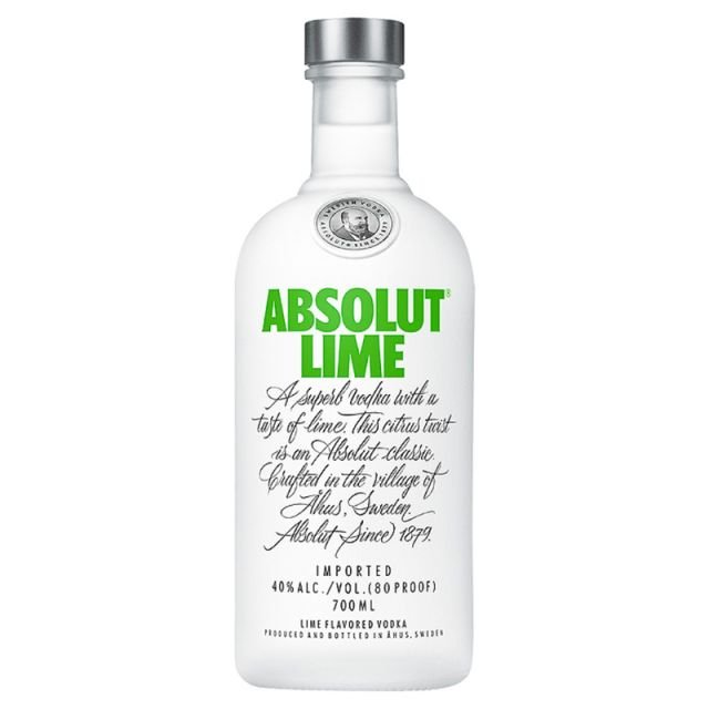 Vodka Absolut Lime 70cl