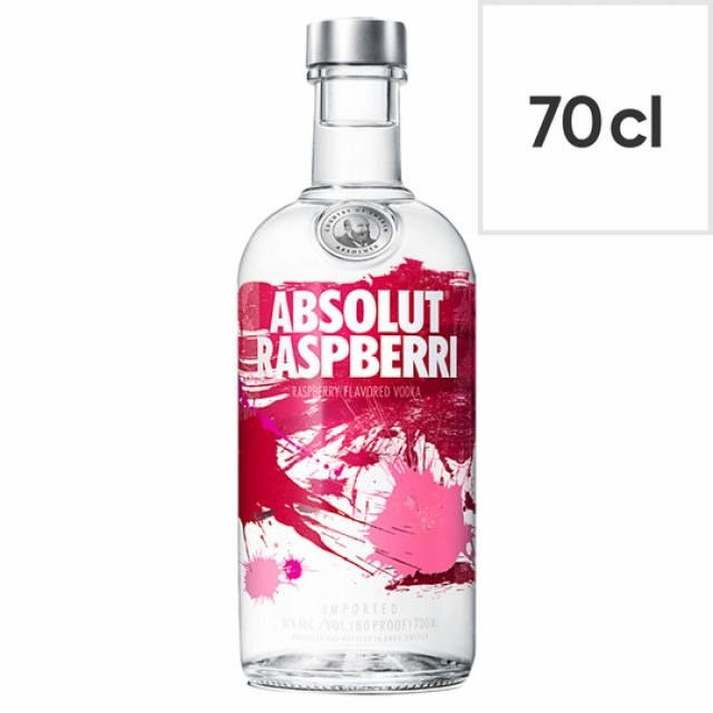 Vodka Absolut Raspberri 70cl