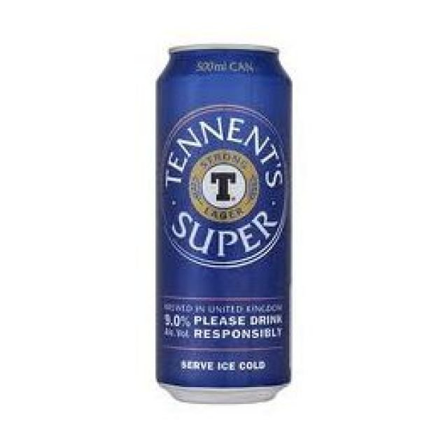 Tennents Super 500ml Can