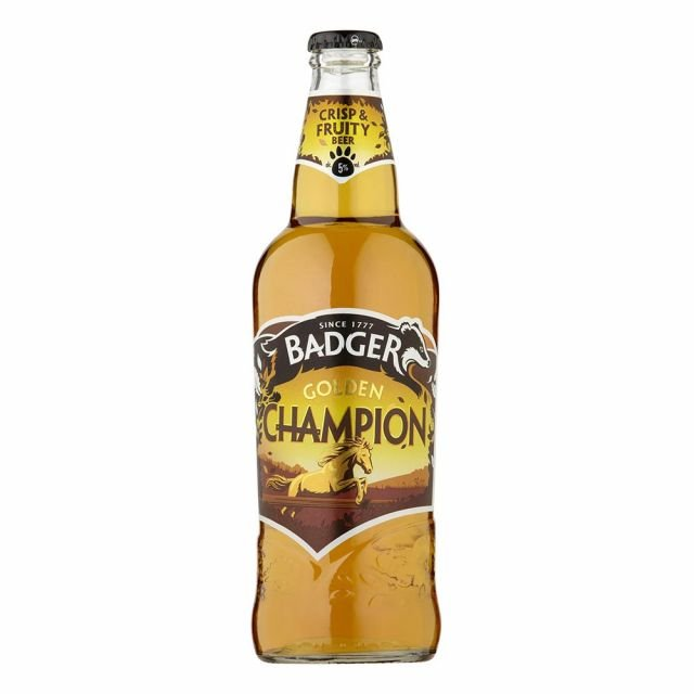 Badger Golden Champion 500ml Bottle