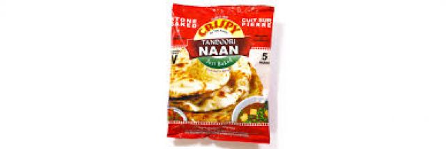 Tandoori Naan Crispy 5 Pack